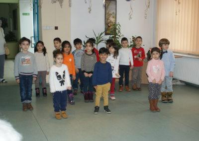 Wizyta dzieci zPrzedszkola Meridian
