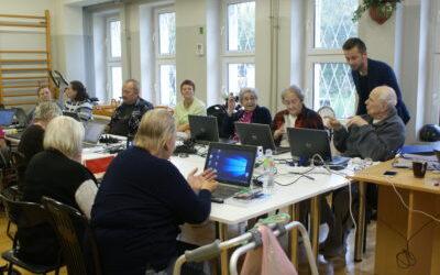 Bezpłatny kurs komputerowy dla Mieszkańców Domu