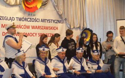 XVIII Przegląd Twórczości Artystycznej Mieszkańców Warszawskich Domów Pomocy Społecznej